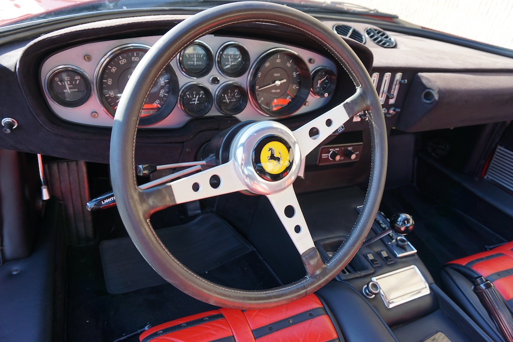 Daytona dashboard