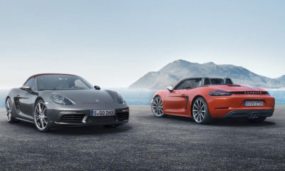 718 Boxster and 718 Boxster S