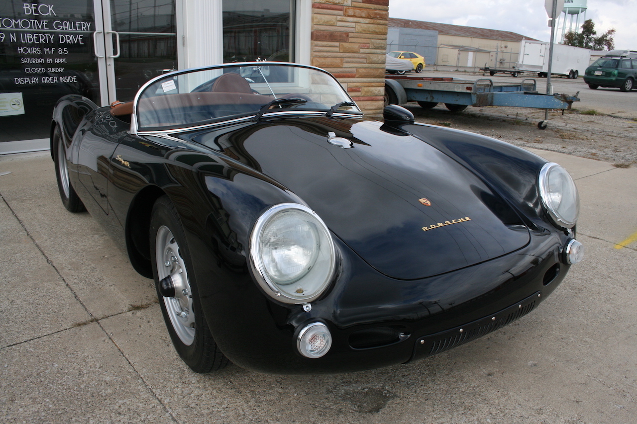Drive With Dave 187 Porsche 550 Beck Spyder Replica