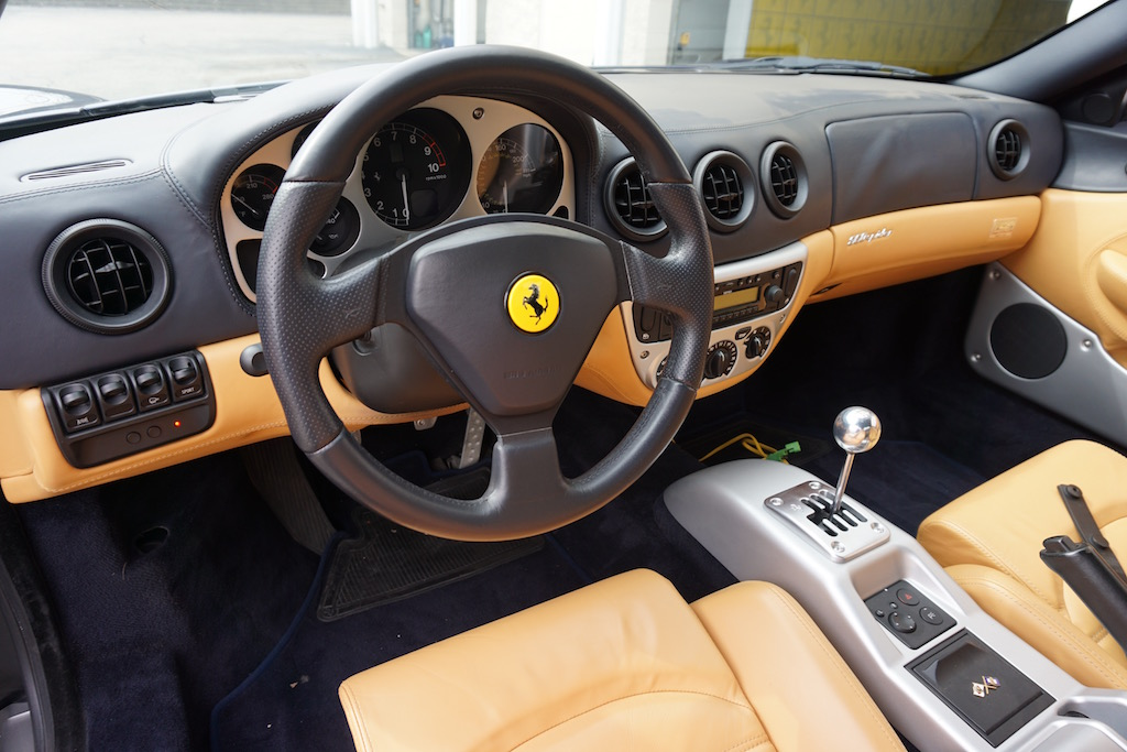 Ferrari 360 Dashboard