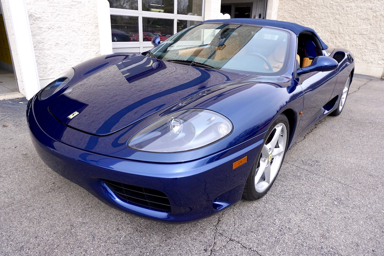 drive with dave driven ferrari 360 spider is on the way up. Black Bedroom Furniture Sets. Home Design Ideas