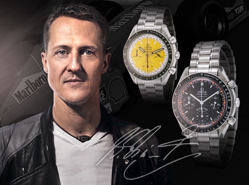 Michael Schumacher's Speedmaster