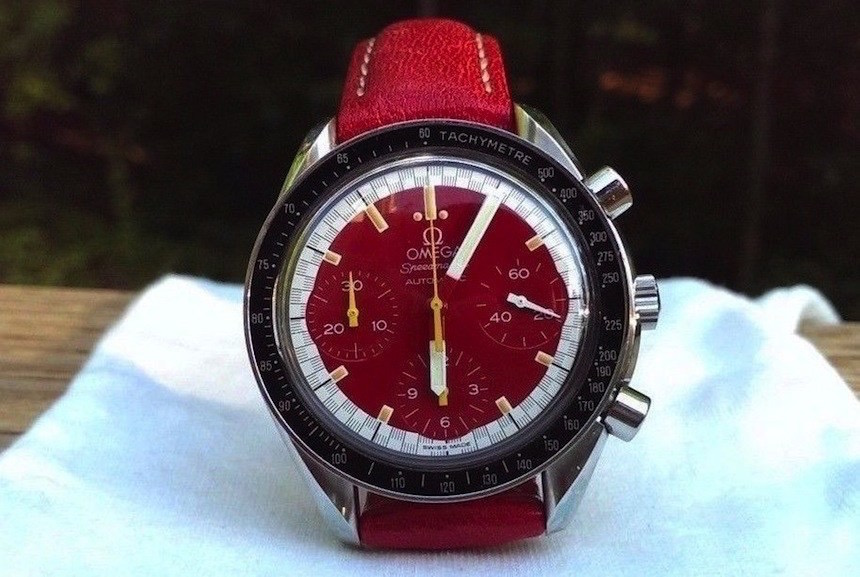 Omega Speedmaster for Michael Schumacher