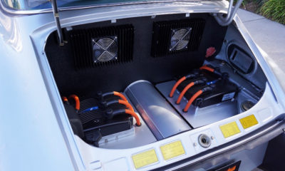 Exotic Cars: Electrified 1973 Porsche 911S