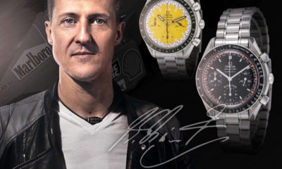 Car Guy Lifestryle: Michael Schumacher's Watch