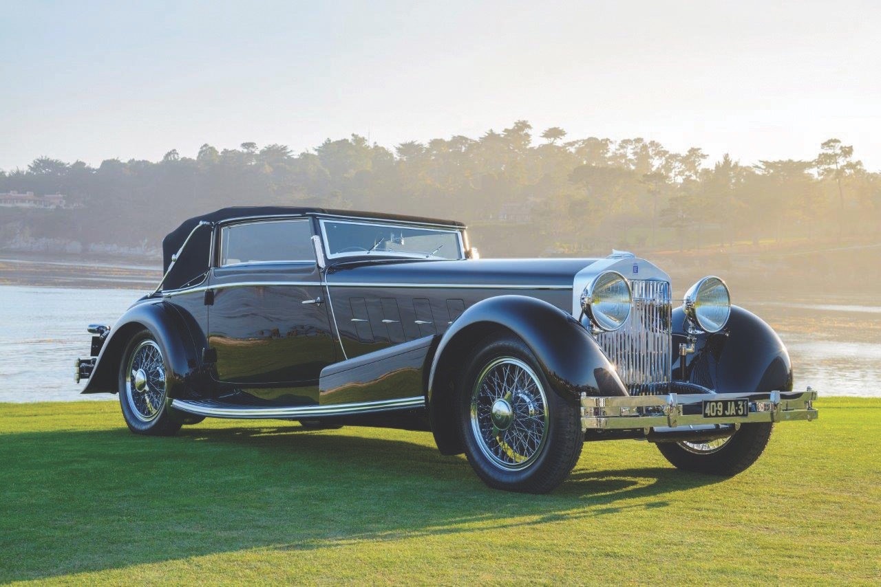 1932 Isotta Fraschini Tipo 8A S Sport Cabriolet