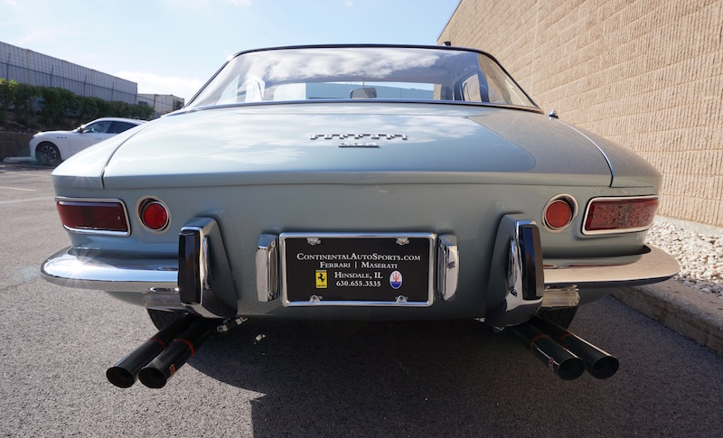 Ferrari 330 GTC rear
