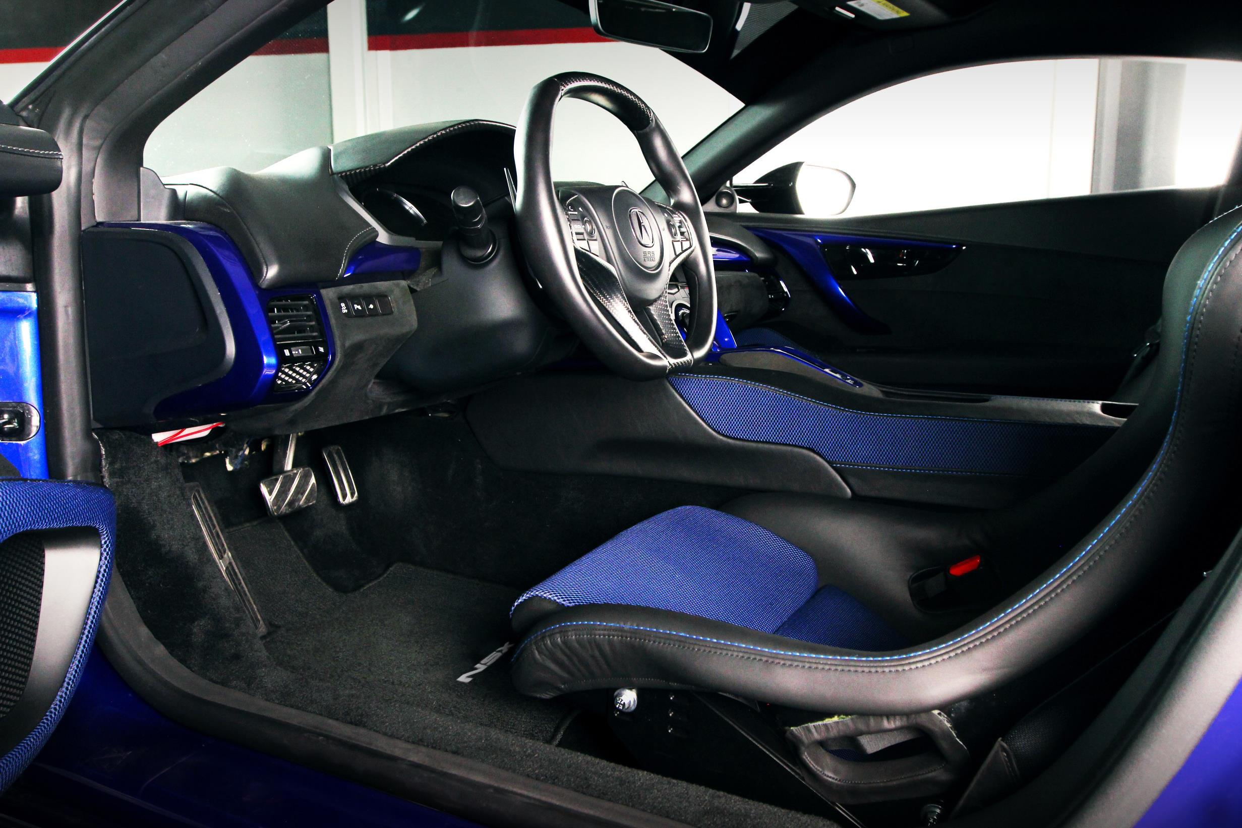 NSX Recaro Racing Seats