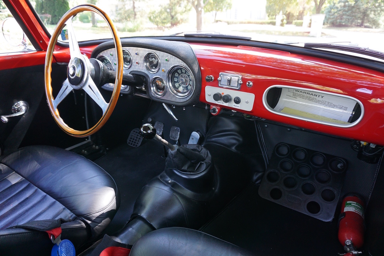 Alfa 1900SSC dashboard