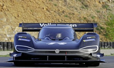 VW Pike's Peak Electric Car