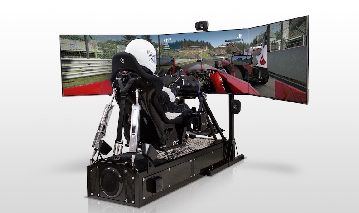 CXC Full Motion Racing Simulator