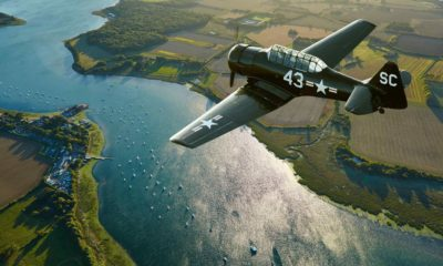 Harvard War Bird Over England