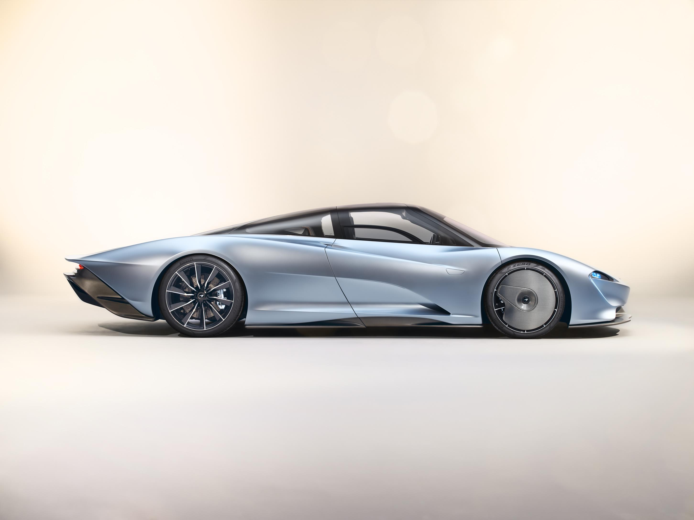 McLaren Speedtail Profile