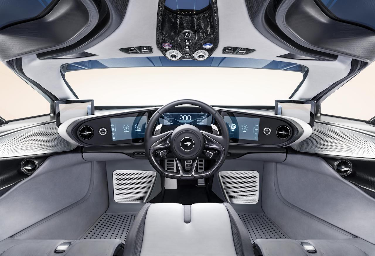 McLaren Speedtail Dashboard