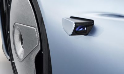 McLaren Speedtail Side View Cameras