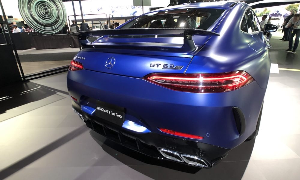 AMG 63S at L.A.Auto Show