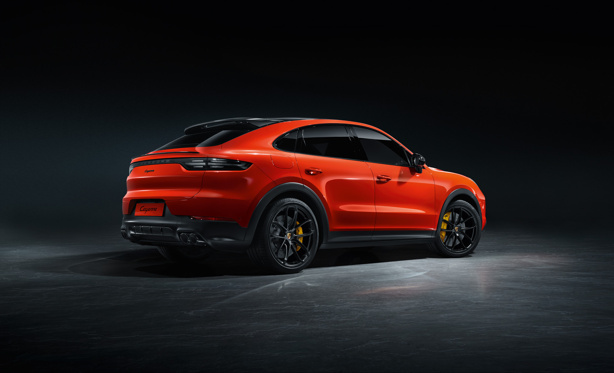 New Porsche Cayenne Coupe