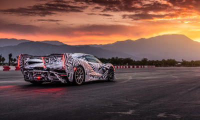 McLaren sports car on the track